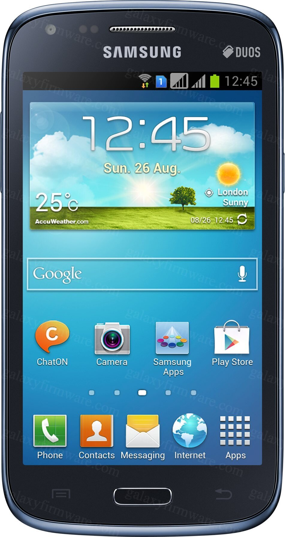 download the firmware for the galaxy core gt i8262